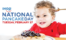 Free Pancakes at IHOP February 27!