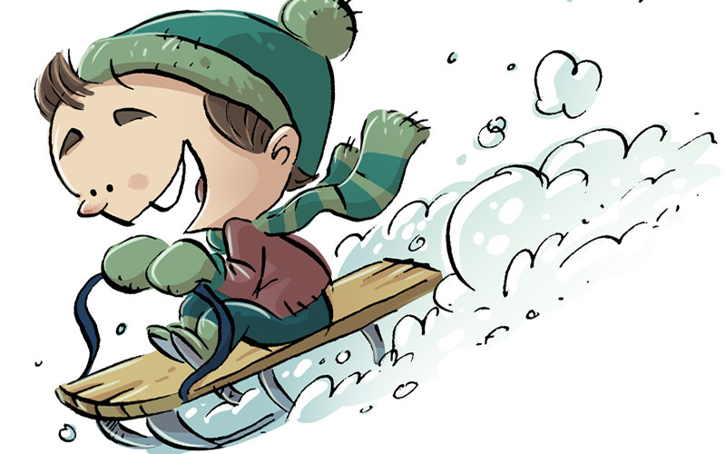 Thousands of Children are Injured Each Year While Sledding – Don't Let Safety Slip Away!
